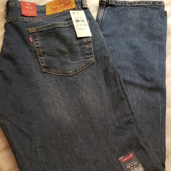 Levi's Other - 👖👖NEW👖👖LEVI'S MEN'S 511 SLIM JEANS